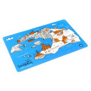 placemat (table mat) Santorini