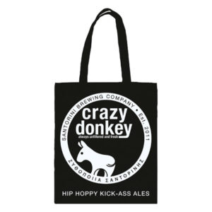 Tote bag Crazy Donkey black