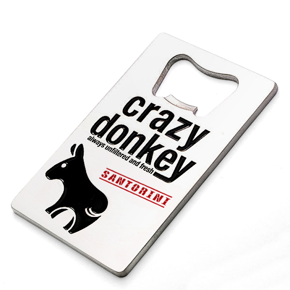 Crazy Donkey bottle opener - magnetic