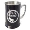 Stainless Steel Crazy Donkey Mug black