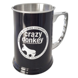 Stainless Steel Crazy Donkey Mug black