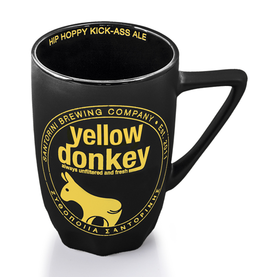 Mug - Yellow Donkey