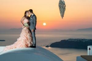Wedding in Santorini, wedding planner