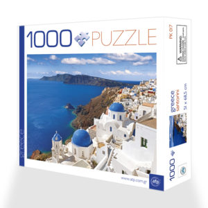 Puzzle 1000 pieces Santorini