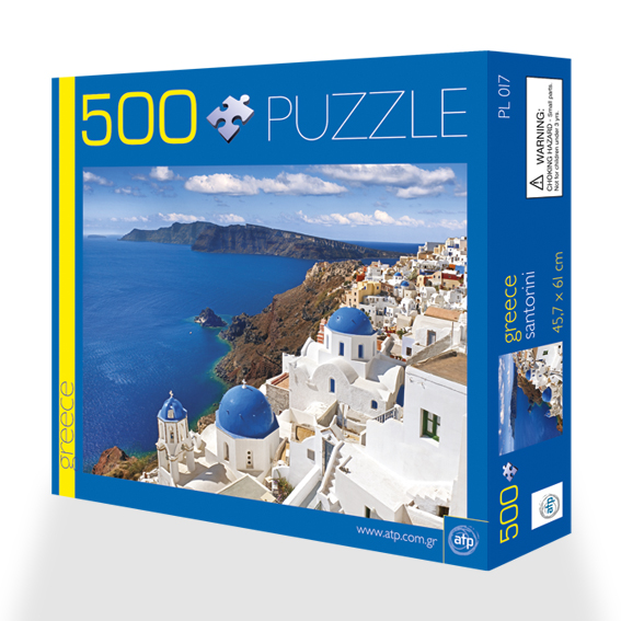 Puzzle 500 pieces Santorini 1