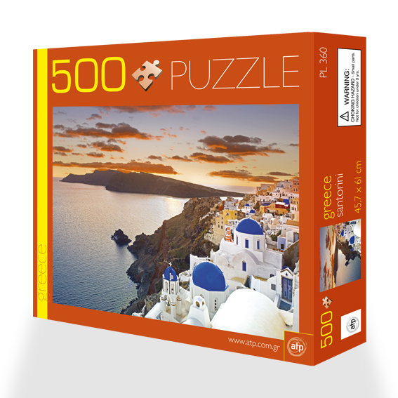 Puzzle 500 pieces Santorini 2