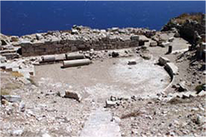 the city of ancient thera