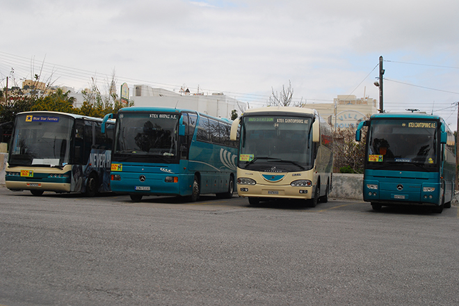 Santorini Local Bus