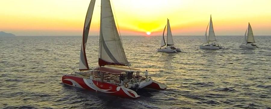 Santorini Sailing Blue Lagoon Cruises Santorininet Simple Dream Catcher Boat Santorini