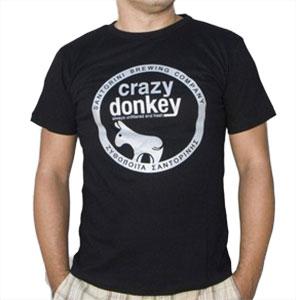 Crazy donkey t-shirt