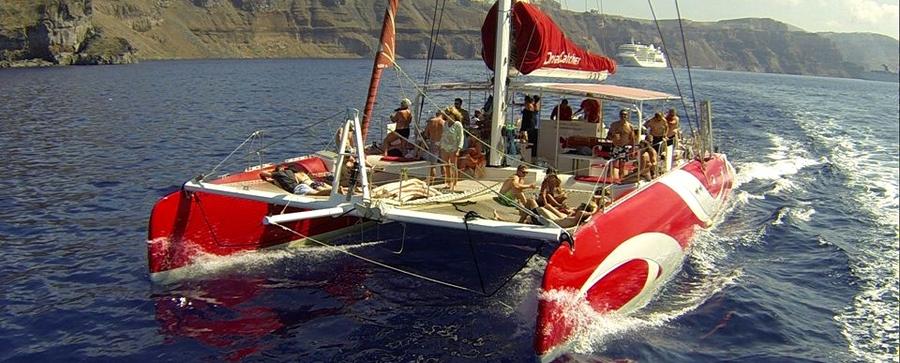 Dream Catcher Boat Santorini