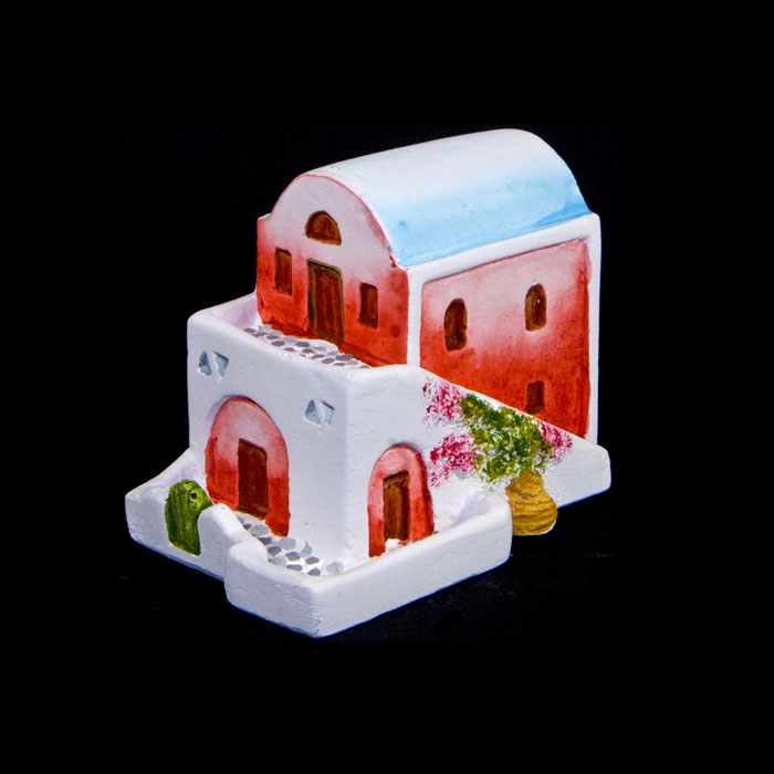 Traditional dome house, miniature