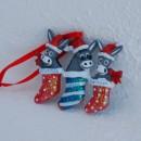 Christmas tree donkeys ornament Santorini