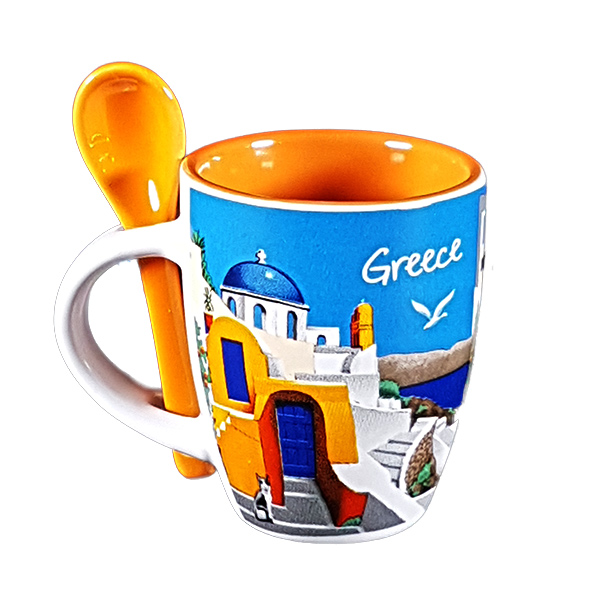 Espresso Cup with spoon