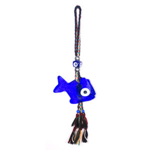 Fish Evil Eye wall hanging amulet