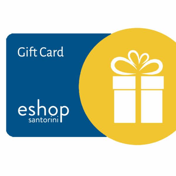 Santorini eshop gift card 25-200