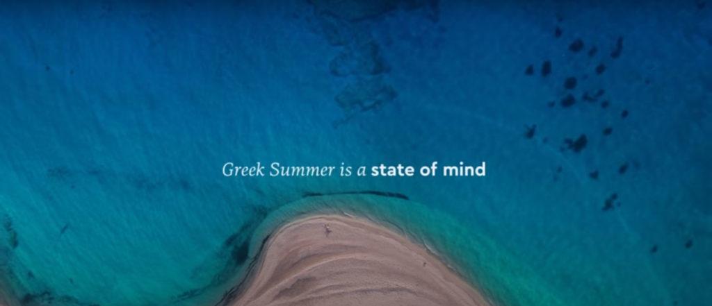 Greek summer campaign photo