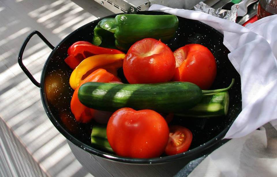 Greek Salad Vegetables