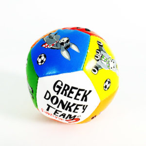 Multicolor Ball Toy - Donkeys