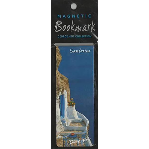 Magnetic Bookmark 3617, Santorini