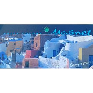 Magnet 3324, santorini