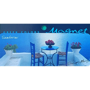 Magnet 3329, santorini
