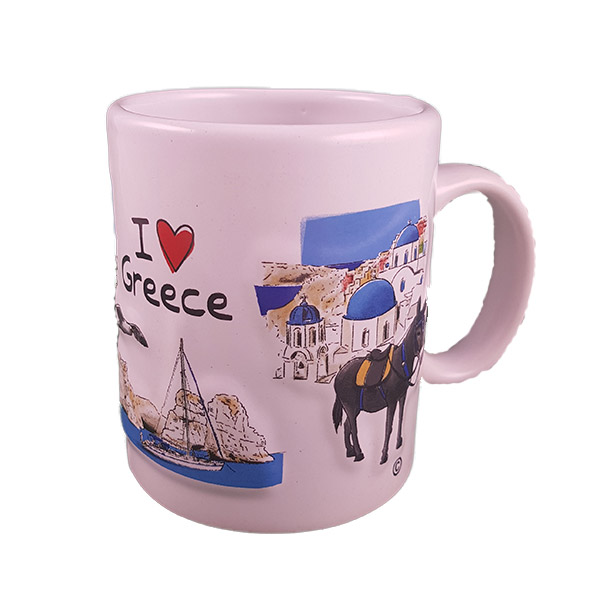 textured mug greece