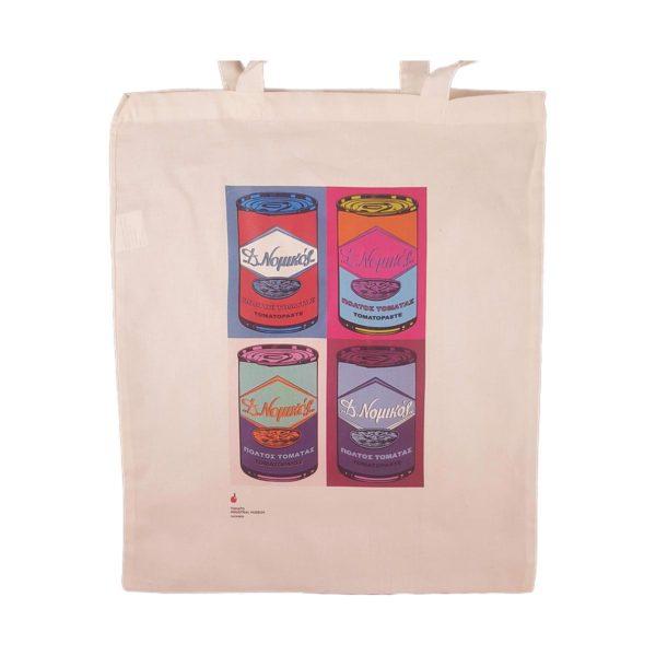 Santorini Tomato Industrial Museum Warhol Bag