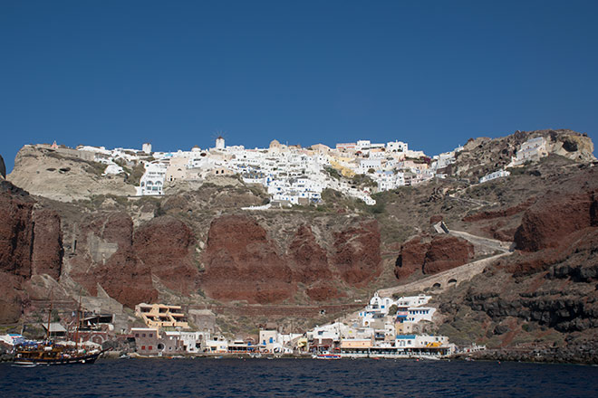 Oia and Amoudi