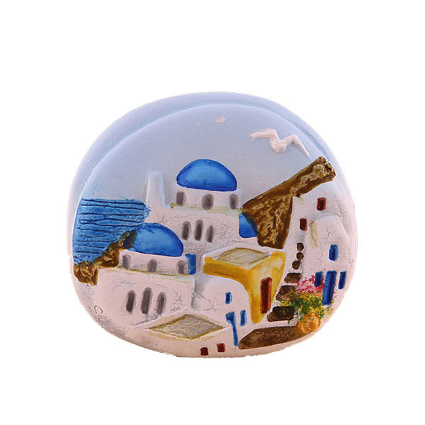 Decorative pebble magnet 5