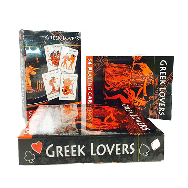 Greek Lovers, playing cards