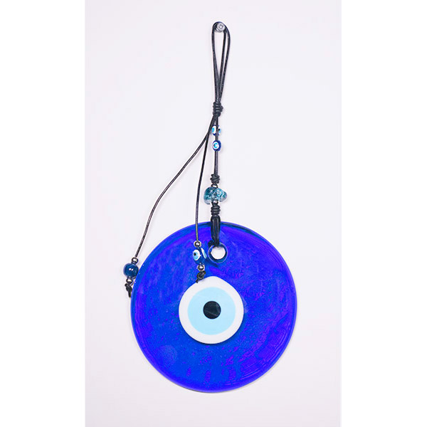 Evil Eye bead wall hanging - large
