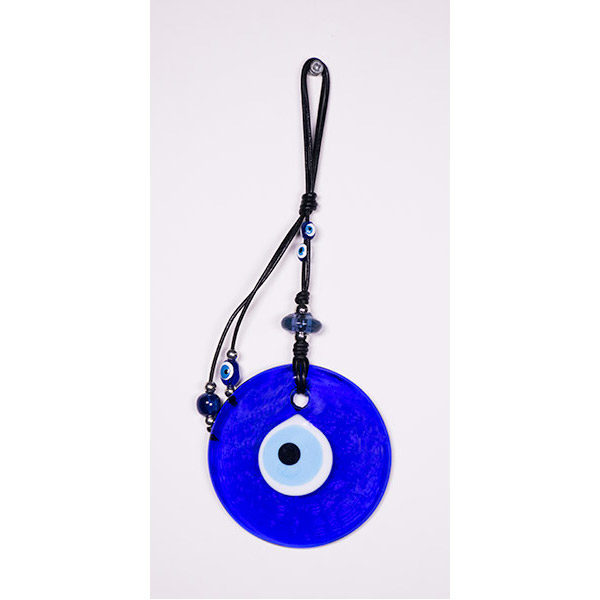 Evil Eye bead wall hanging - small