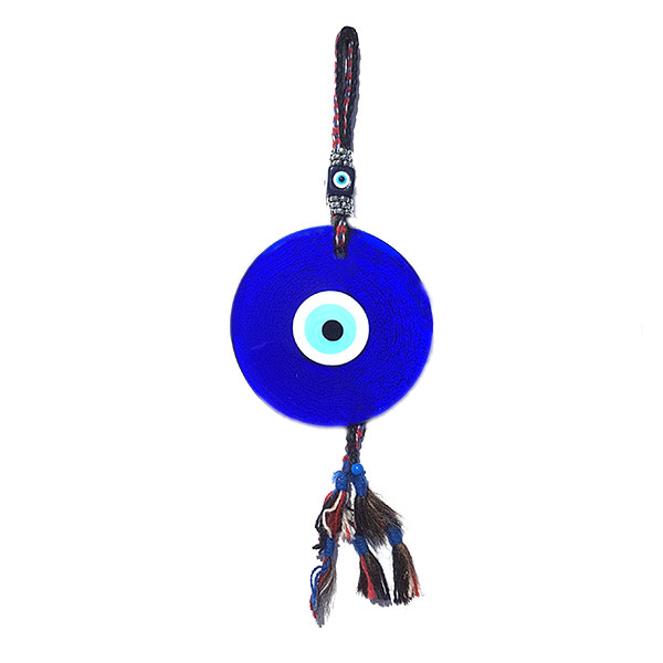 Evil Eye bead wall hanging - large - 17cm