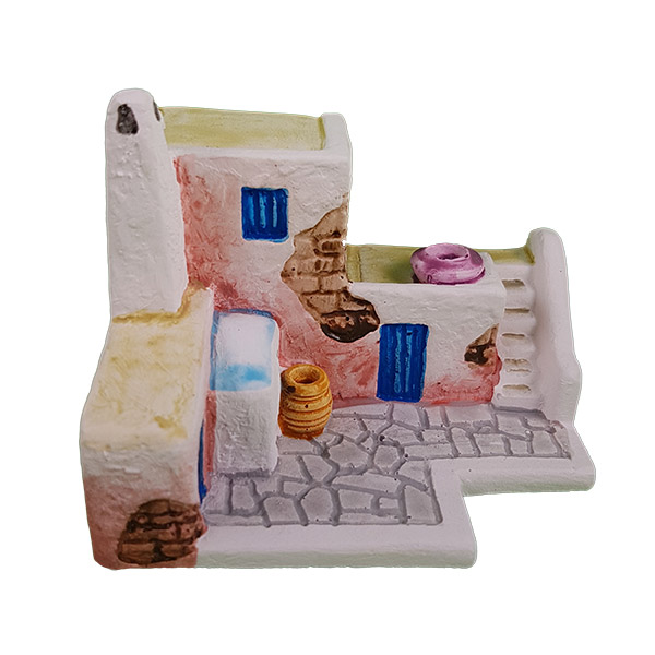 santorini house model 3