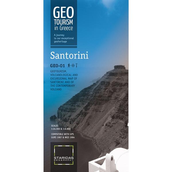Santorini, volcanological map