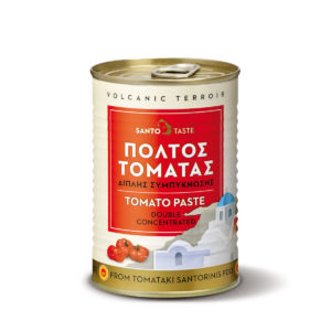 Santorini tomato paste double concentrated by Santotaste