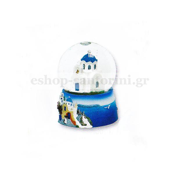 Snow ball - church