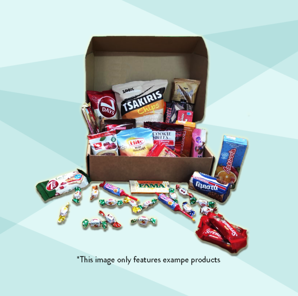 Snack Box Product Sample