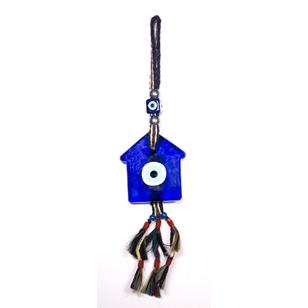 House Evil Eye wall hanging amulet
