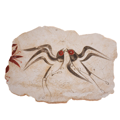 Swallows, Spring wall-painting reproduction