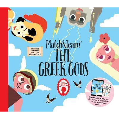 Match and Learn the Greek Gods Book
