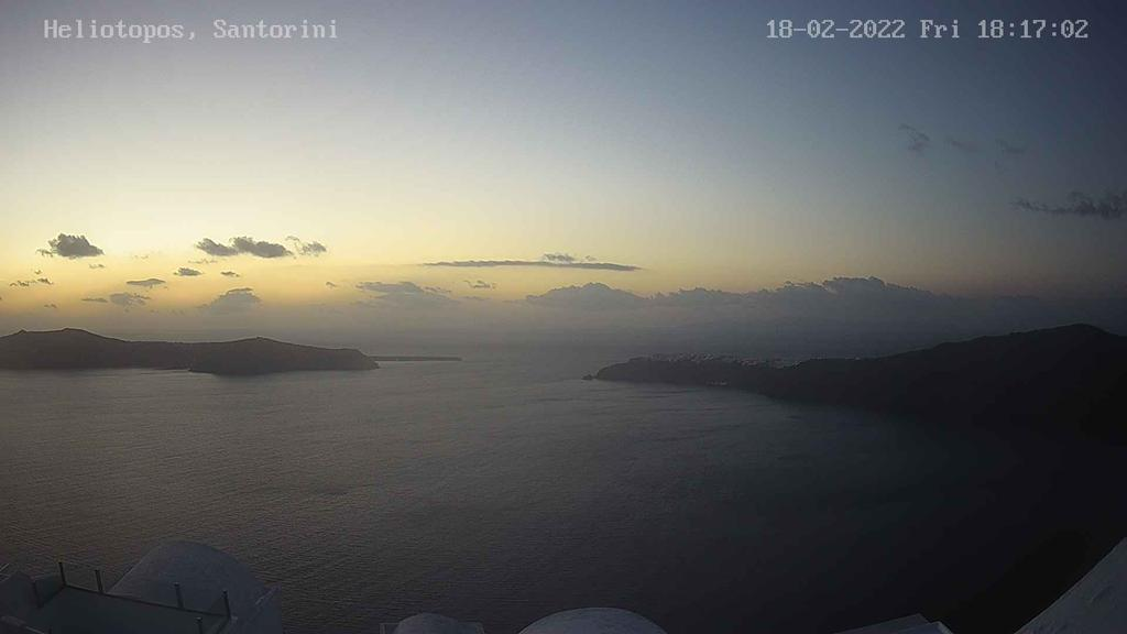 santorini webcam