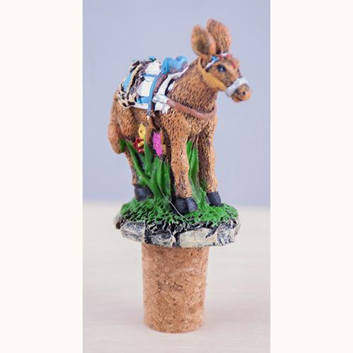 Wine cork - donkey