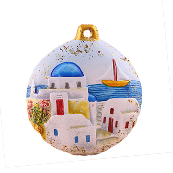Christmas ornament - Santorini