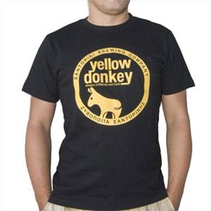 Yellow donkey t-shiirt